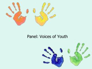 Panel: Voices of Youth