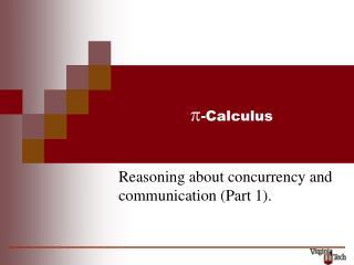 p -Calculus