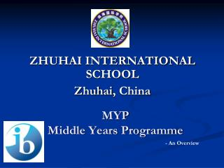 MYP   Middle Years Programme