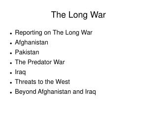The Long War