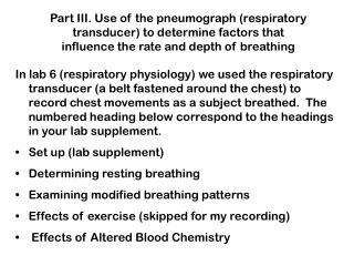 2) Normal Breathing