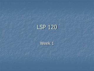 LSP 120