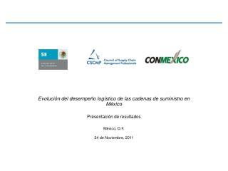 Evolución del desempeño logístico de las cadenas de suministro en México