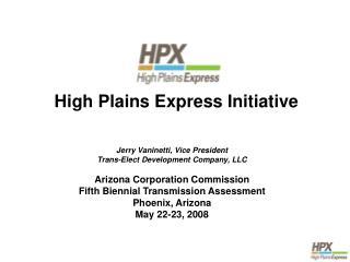High Plains Express Initiative