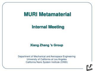 MURI Metamaterial