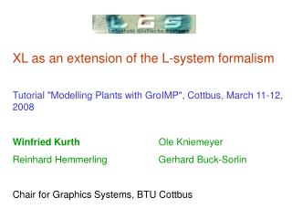 XL as an extension of the L-system formalism