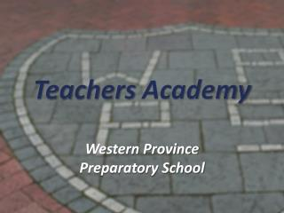 Teachers  Academy