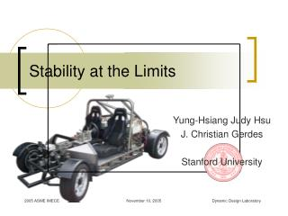 Stability at the Limits