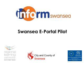 Swansea E-Portal Pilot