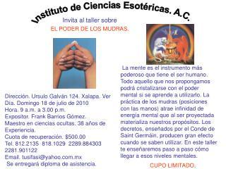 Instituto de Ciencias Esotéricas. A.C.