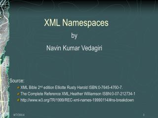 XML Namespaces