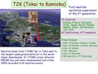T2K (Tokai to Kamioka)