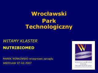 Wrocławski Park Technologiczny