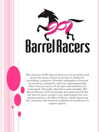 The History of Barrel Racing…
