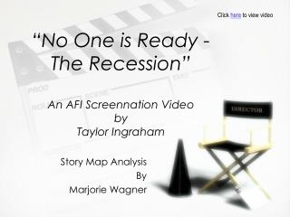 """No One is Ready - The Recession"" An AFI Screennation Video by Taylor Ingraham"