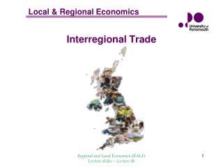 Interregional Trade