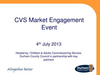CVS Market Engagement Event