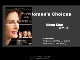 Women's Choices