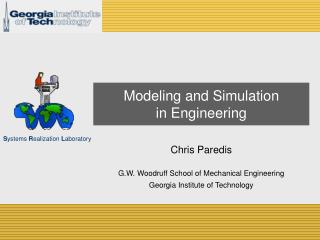 Modeling and Simulation in Engineering