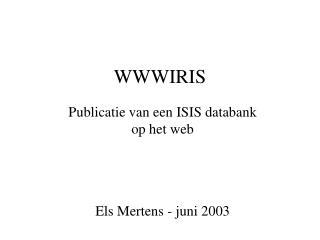 WWWIRIS