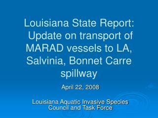 Louisiana State Report: