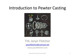 Introduction to Pewter Casting