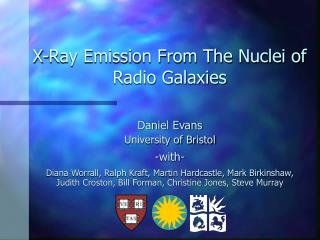 X-Ray Emission From The Nuclei of Radio Galaxies