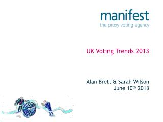 UK Voting Trends 2013