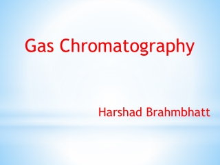 Separations and Chromatography