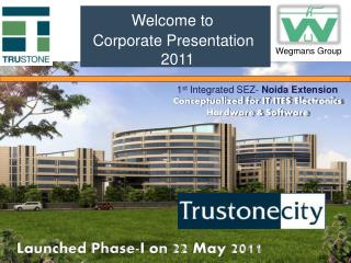 Welcome to Corporate Presentation   2011