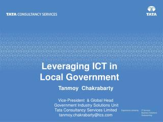 Leveraging ICT in  Local Government