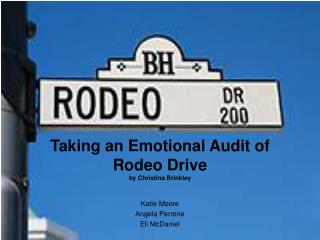Taking an Emotional Audit of Rodeo Drive by Christina Brinkley