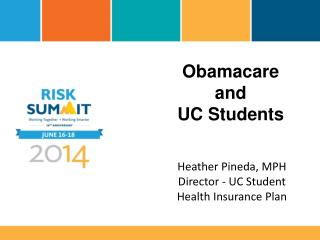 Obamacare  and UC  Students