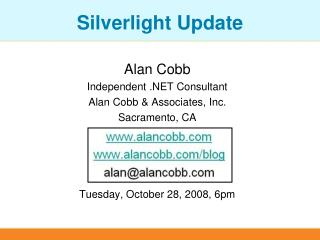 Silverlight Update