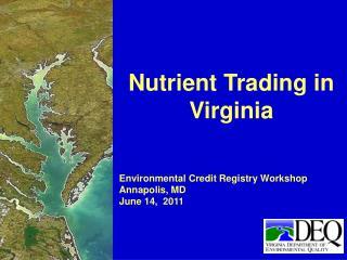 Nutrient Trading in Virginia