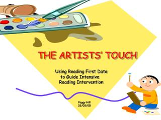 THE ARTISTS' TOUCH