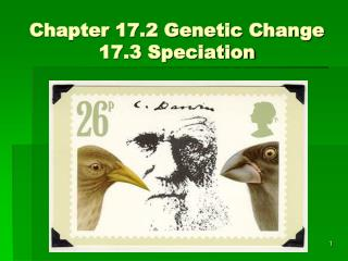 Chapter 17.2 Genetic Change  17.3 Speciation