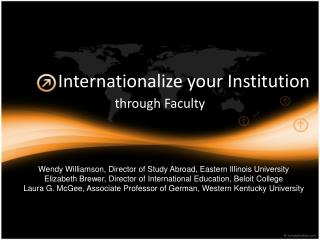 Internationalize your Institution