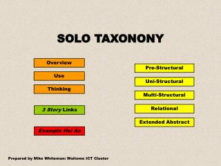SOLO TAXONONY