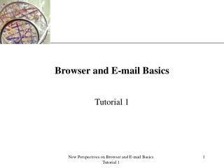 Browser and E-mail Basics