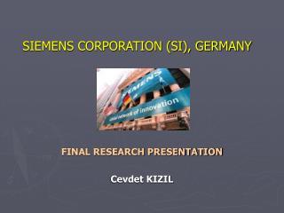 SIEMENS CORPORATION (SI), GERMANY