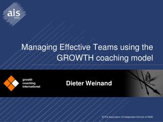 Managing Effective Teams using the GROWTH coaching model