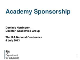 Academy Sponsorship