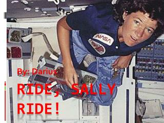 Ride, Sally ride!