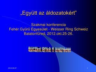 Buczkó Erika r. alezredes
