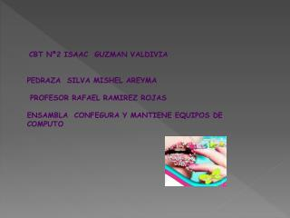 CBT Nª2 ISAAC GUZMAN VALDIVIA PEDRAZA  SILVA MISHEL AREYMA  PROFESOR RAFAEL RAMIREZ ROJAS