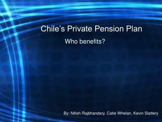 Chile's Private Pension Plan