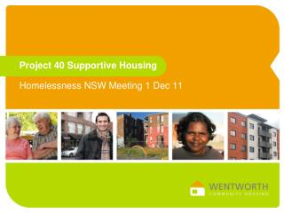 Project 40 Supportive Housing