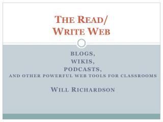 The Read / Write  Web