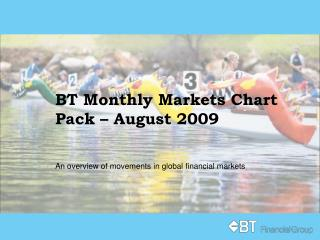 BT Monthly Markets Chart Pack – August 2009